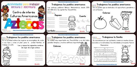 Tabajamos la lecto escritura centro de interes los Aztecas ...