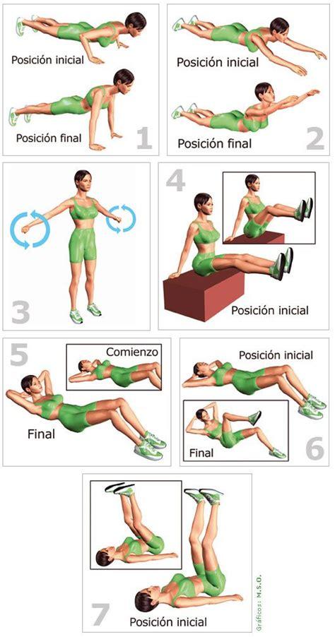 tabla abdominales hipopresivos | ejercicios | Ejercicios ...