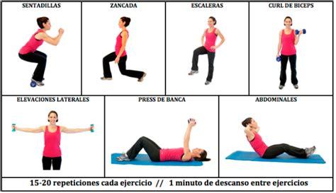 Tabla de ejercicios para hacer en casa de mujer | Rutinas