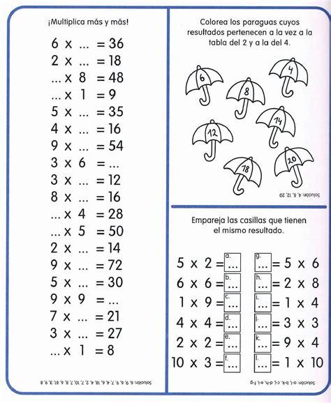 Tablas de multiplicar | MATEMÁTICAS | Tablas de ...