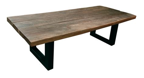 Table Basse Bois Et Fer - Maison Design - Wiblia.com