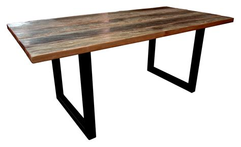 TABLE BOIS DE FER BRUT