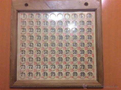 tablero bingo de madera y plastico   Comprar en ...