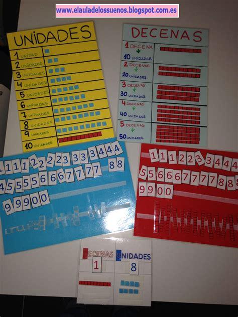 Tableros adaptados para aprender unidades y decenas ...