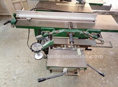 TABLÓN DE ANUNCIOS - Maquina de carpintería ideal para ...