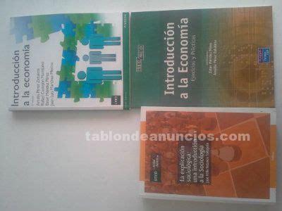 TABLÓN DE ANUNCIOS - Vendo libros 1º grado en sociología uned