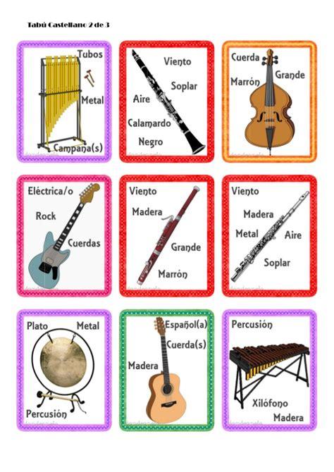 Tabú de instrumentos musicales