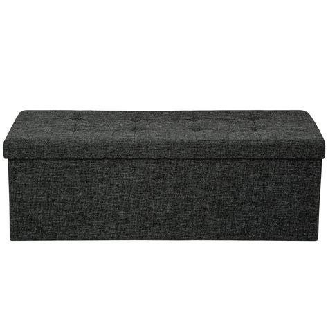 Taburete plegable banco caja de almacenaje asiento cúbico ...