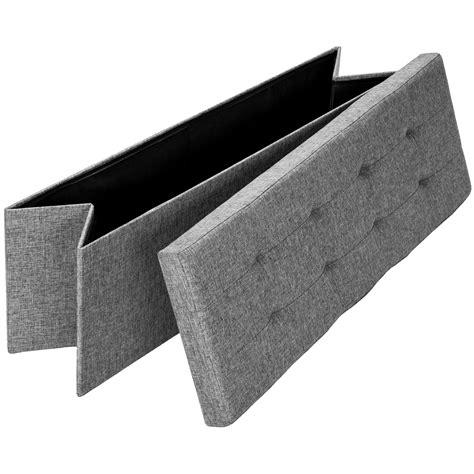 Taburete plegable banco caja de almacenaje asiento cubo ...