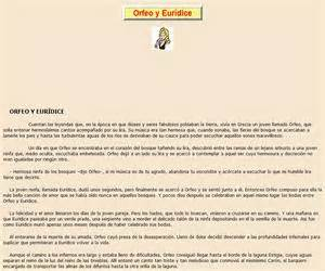Tag > orfeo   Didactalia: material educativo