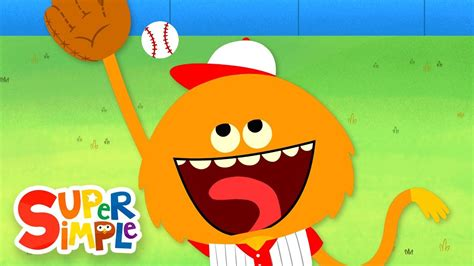 Take Me Out To The Ball Game | Kids Songs | Super Simple ...
