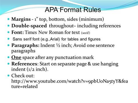 Take the Plunge! APA Writing and Citing ppt download