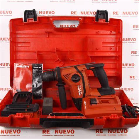 Taladro percutor a bateria HILTI TE6-A36 AVR E267241 ...