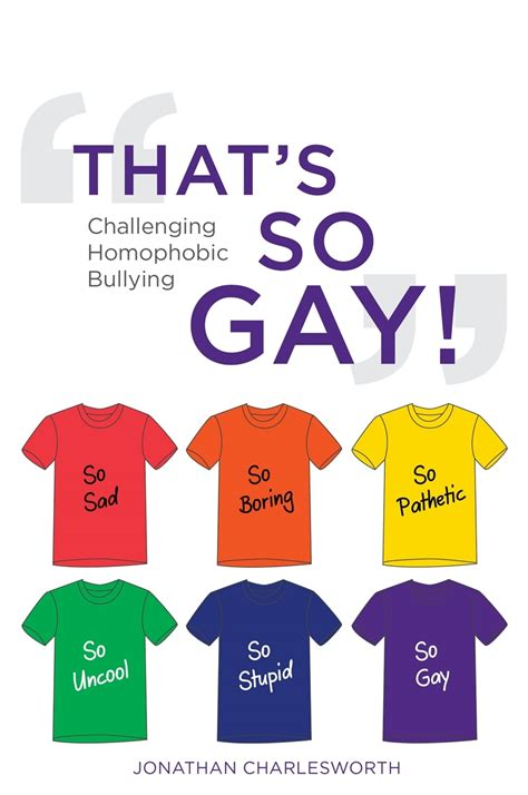 Talking about homophobic bullying   LGBT History Month