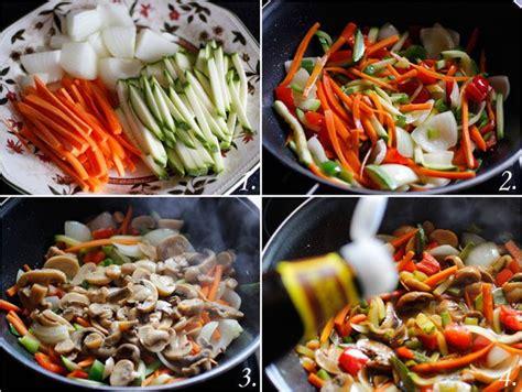 Tallarines con Verduras (Receta china) | Recetas ...
