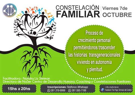 Taller de Constelaciones Familiares - La Red Coaching ...