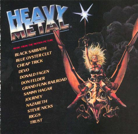 Tapio's Ronnie James Dio Pages: Heavy Metal Soundtrack LP ...