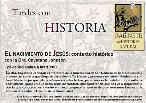 TARDES CON HISTORIA- EL NACIMIENTO DE JESÚS: contexto ...