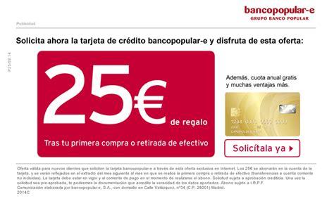 Tarjeta Credito Banco Popular E