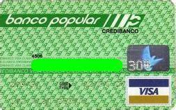 Tarjeta de Crédito Popular del Banco Popular ...