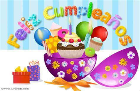 Tarjeta de cumpleaños circular, Cumpleaños, tarjetas