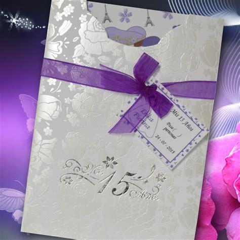 Tarjeta de Invitación para Quince Años  qn 6094    Angels ...