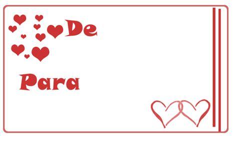 Tarjeta para regalo de San Valentin | Tips e ideas