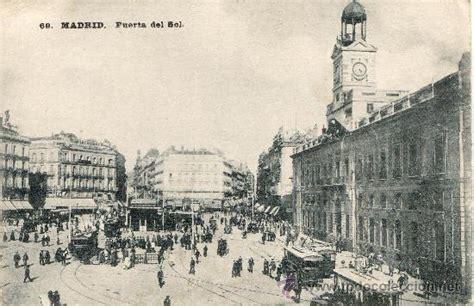 tarjeta postal antigua de madrid. puerta del so - Comprar ...