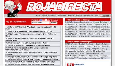 Tarjeta roja al streaming online: 'Rojadirecta.me' tendrá ...