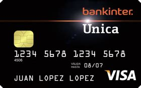 Tarjeta Única de crédito | Bankinter
