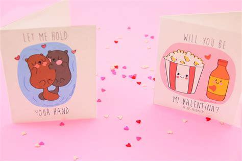 Tarjetas de amor para San Valentín ~ Craftingeek