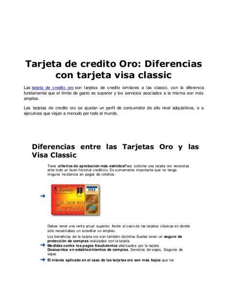 Tarjetas de credito visa mastercard