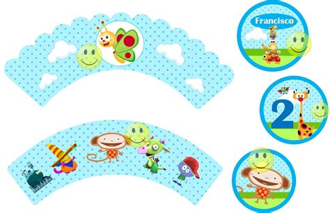 Tarjetas De Cumpleaños Baby Tv Para Imprimir En Hd 21 en ...