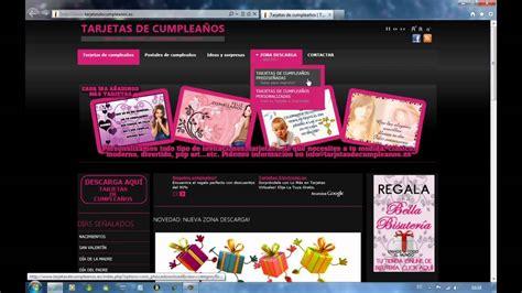 Tarjetas de cumpleaños   Tutorial personalizar 1era parte ...