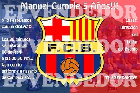 Tarjetas De Invitacion A Cumpleaños Futbol En Hd Gratis 2 ...