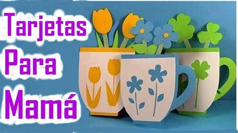Tarjetas de Papel para Regalar el Día de las Madres ...