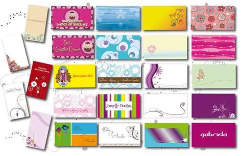 tarjetas de presentacion gratis para imprimir mejor fondos ...