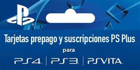Tarjetas prepago PS Store y suscripciones a PS Plus baratas