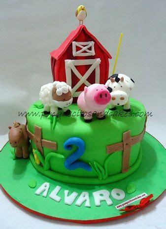 Tarta de cumpleaños infantil, La granja de Alvaro!!!   la ...