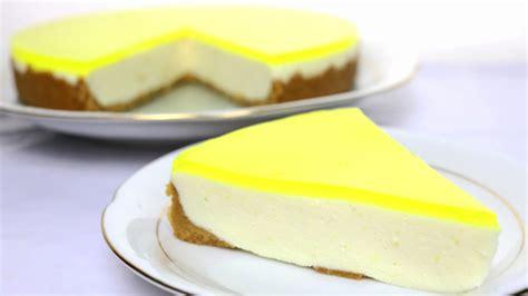 Tarta de limón   Tarta fácil sin horno   YouTube
