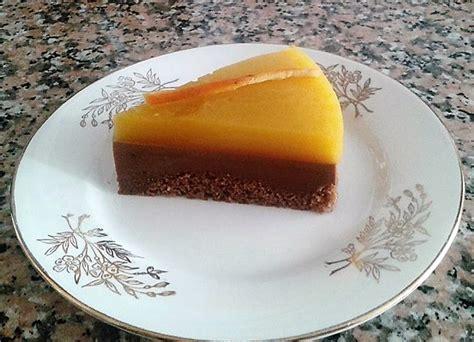 Tarta fría de cacao y naranja - Elbullirdeagus