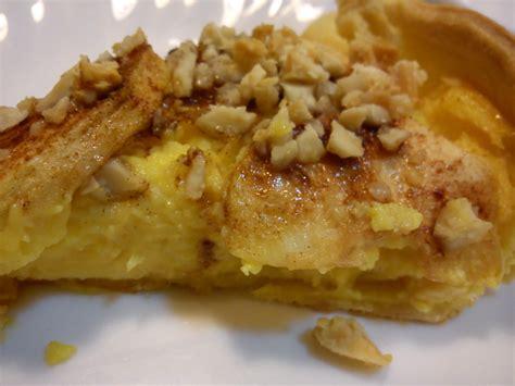 Tarte de maçã e amêndoa com farinha Custard na Bimby ...