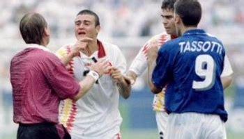Tassotti Luis Enrique, el reencuentro 17 años después ...