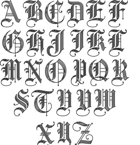tattoo-fonts-2.jpg (621×643) | tats | Pinterest | Schöne ...