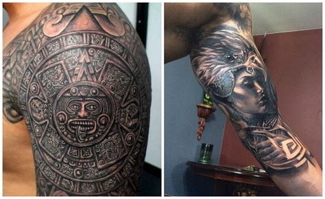 Tatuajes aztecas, el poder ancestral de una civilización