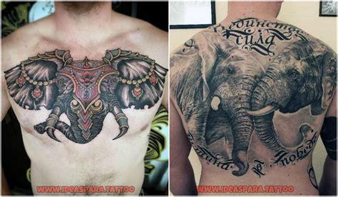 Tatuajes de elefantes - Ideas para tatuajes de Hombre
