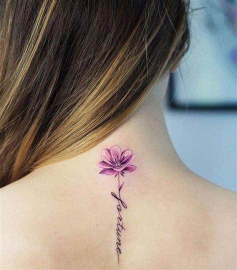 Tatuajes de flores distintos diseños hombres mujeres y sus ...