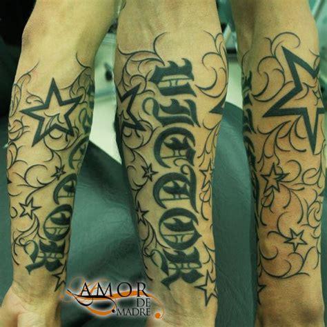 Tatuajes De Nombres En El Brazo Con Estrellas
