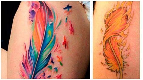 Tatuajes de plumas, significado y diseños que vas a querer ...