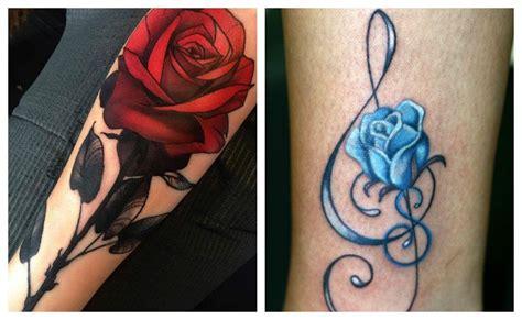 Tatuajes de rosas para hombres y mujeres, historia y ...